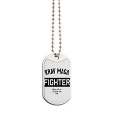 Krav Maga Fighter Dog Tags