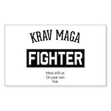 Krav Maga Fighter Decal