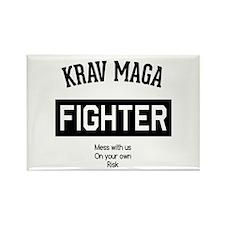 Krav Maga Fighter Magnets