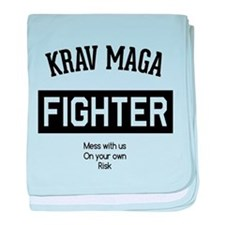 Krav Maga Fighter baby blanket