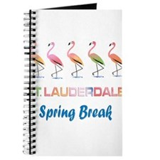 Tropical Flamingos FORT LAUDERDALE Spring Journal