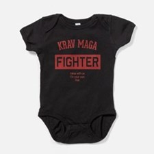 Krav Maga Fighter Baby Bodysuit