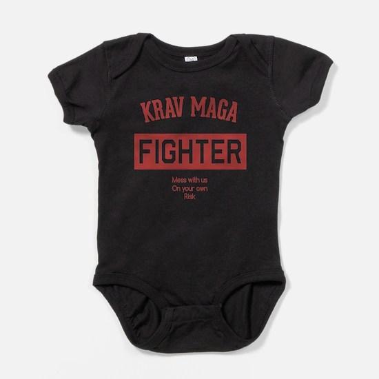 Krav Maga Fighter Baby Bodysuit
