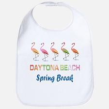 Tropical Flamingos DAYTONA BEACH Spring Break Bib