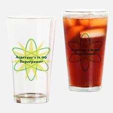 Aspie Superpower Drinking Glass