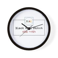 Blak Wall Clock