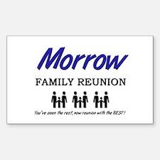 Morrow Family Reunion Rectangle Decal