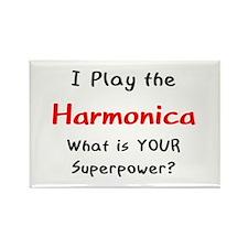 play harmonica Rectangle Magnet