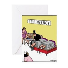 Cute David blaine Greeting Cards (Pk of 10)