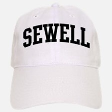 SEWELL (curve-black) Baseball Baseball Cap
