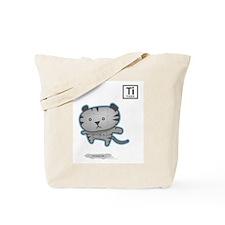Titanium Tiger Tote Bag