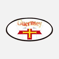 Guernsey ribbon Patches
