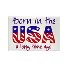 born in the USA Rectangle Magnet