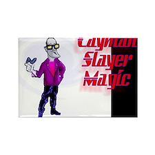 David blaine Rectangle Magnet