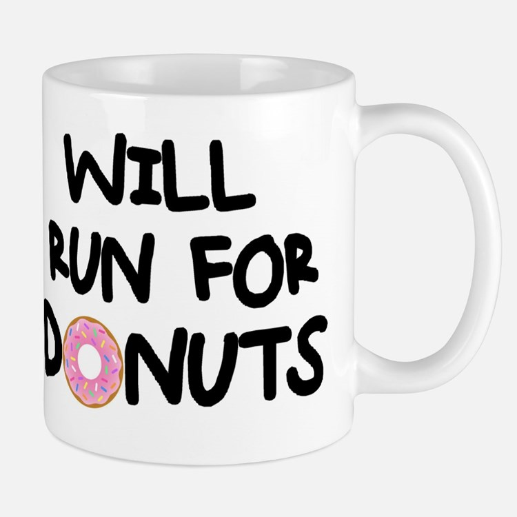 Cute Running dessert Mug