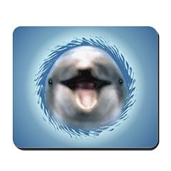 Smile Dolphin Mousepad