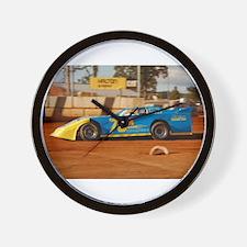 Unique Dirt track racing Wall Clock