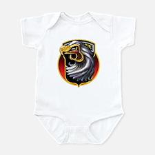 Screamin' Eagles Badge Infant Bodysuit