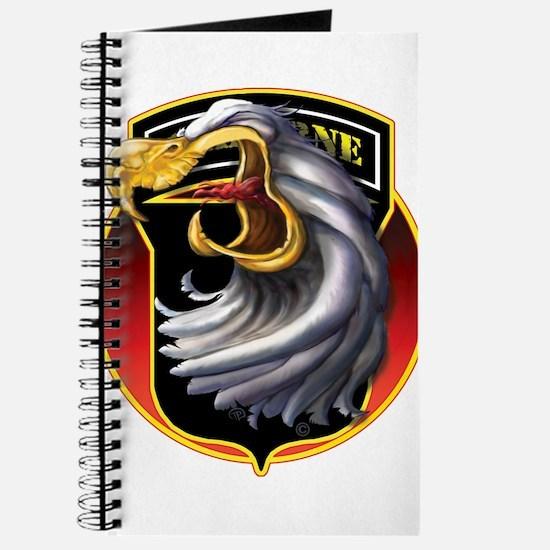 Screamin' Eagles Badge Journal