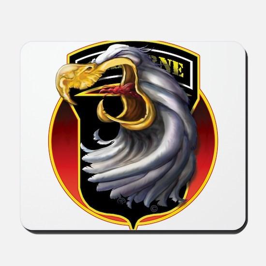 Screamin' Eagles Badge Mousepad