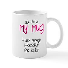 You Read My Mug Mugs