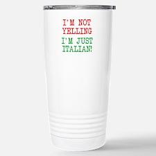 I'm Italian Travel Mug