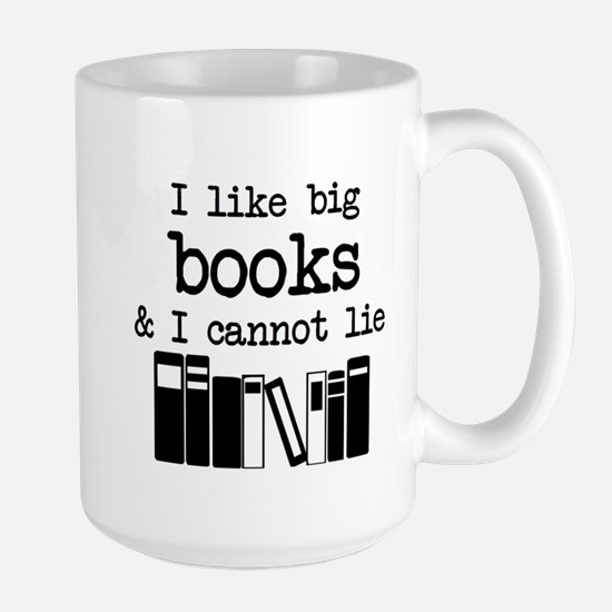I like Big Books Mugs