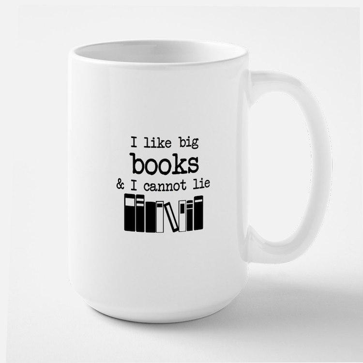I like Big Books Mugs
