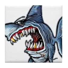 Cool Shark Tile Coaster
