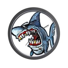 Cool Shark Wall Clock