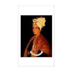 Marie Laveau Rectangle Decal