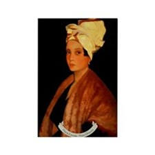 Marie Laveau Rectangle Magnet (10 pack)