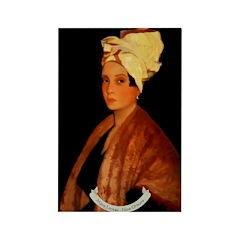Marie Laveau Rectangle Magnet (100 pack)