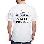 AirlineFan.com White T-Shirt