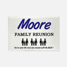 Moore Family Reunion Rectangle Magnet