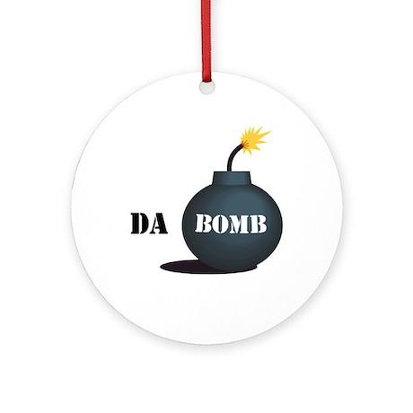 Da Bomb Ornament (Round) by funt_shirts