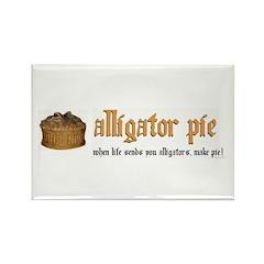 Alligator Pie Rectangle Magnet (10 pack)