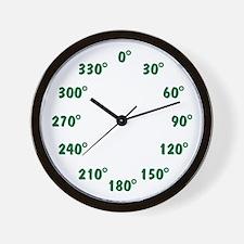 DEGREE Wall Clock