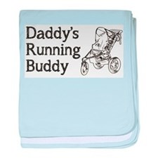 Daddy's Running Buddy baby blanket