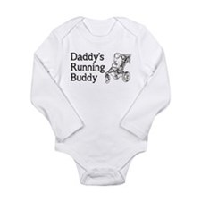 Daddy's Running Buddy Long Sleeve Infant Bodysuit