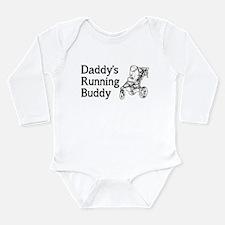 Daddy's Running Buddy Long Sleeve Infant Bodysuit