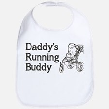 Daddy's Running Buddy Bib
