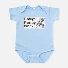 Daddy's Running Buddy Infant Bodysuit