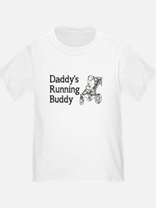 Daddy's Running Buddy T