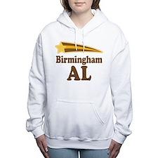 Birmingham Alabama Women's Hooded Sweatshirt
