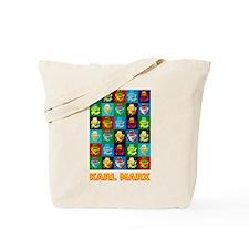 Pop Art Karl Marx Tote Bag