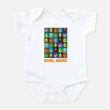 Pop Art Karl Marx Infant Bodysuit