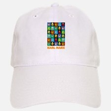 Pop Art Karl Marx Baseball Baseball Cap