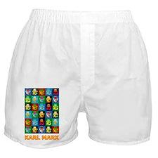 Pop Art Karl Marx Boxer Shorts