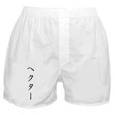 Katakana name for Hector Boxer Shorts